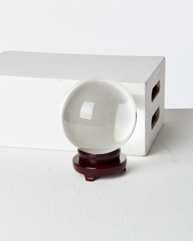 Front view of Calisto Crystal Ball
