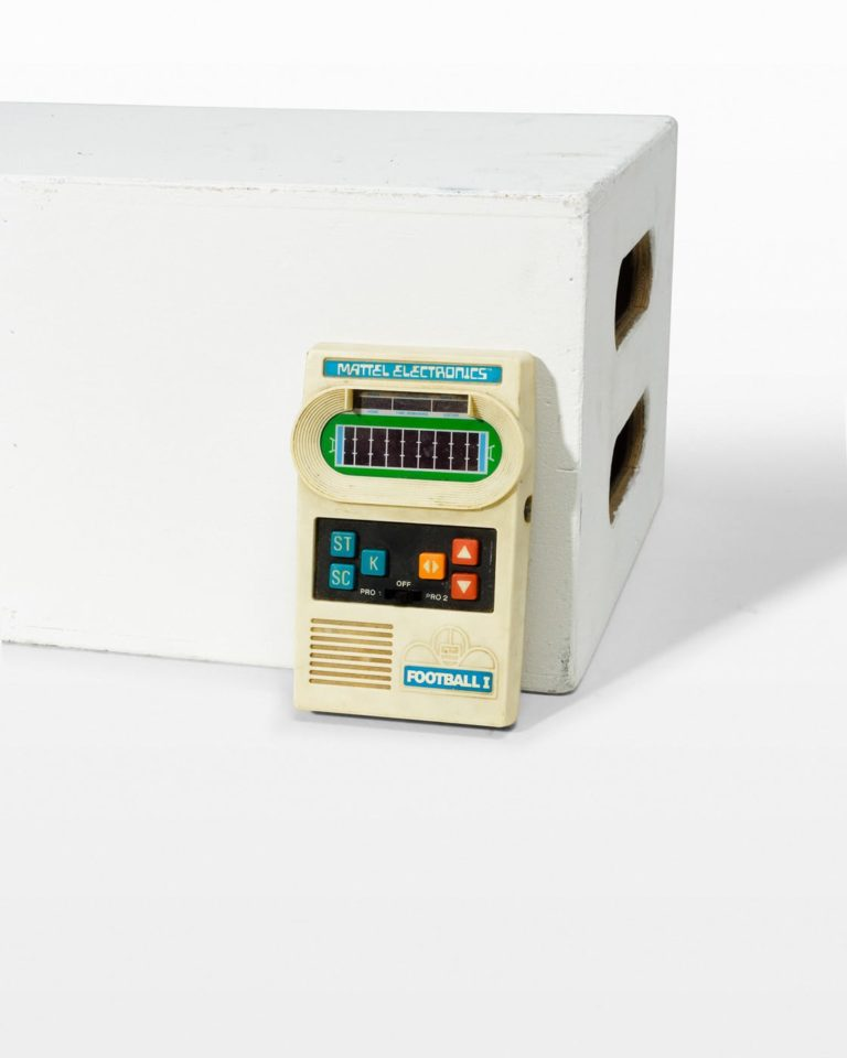 Front view of Vintage Handheld Game