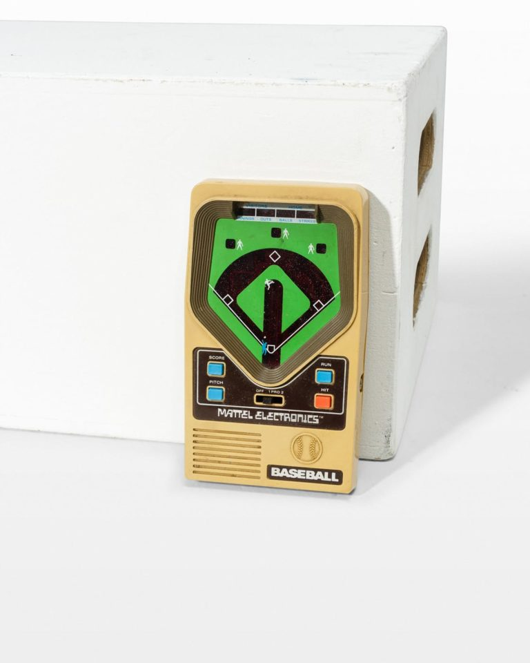 Front view of Bullpen Vintage Electronic Game