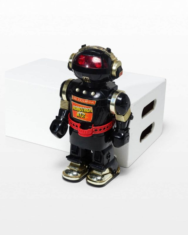 Front view of Stross Robot