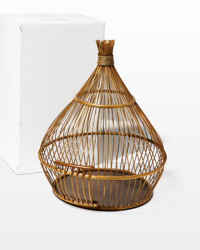 Front view of Reed Birdcage