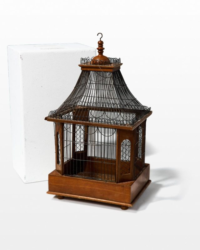 Front view of Mya Birdcage