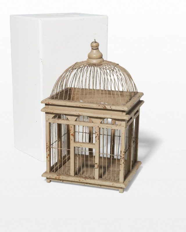 Front view of Parsons Birdcage