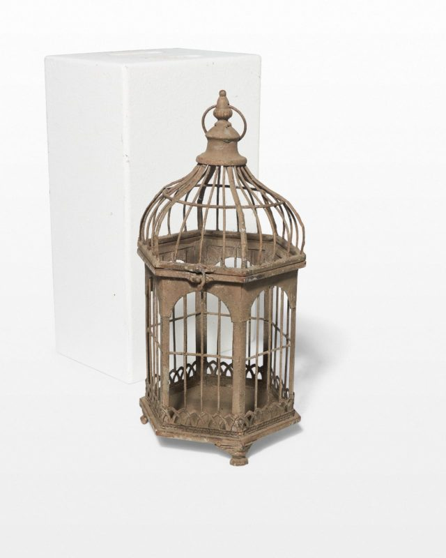 Front view of Crosby Birdcage
