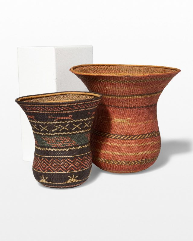 Front view of Baji Basket Set