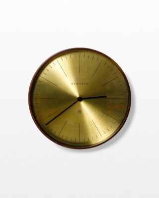 Front view of Jared Copper Wall Clock