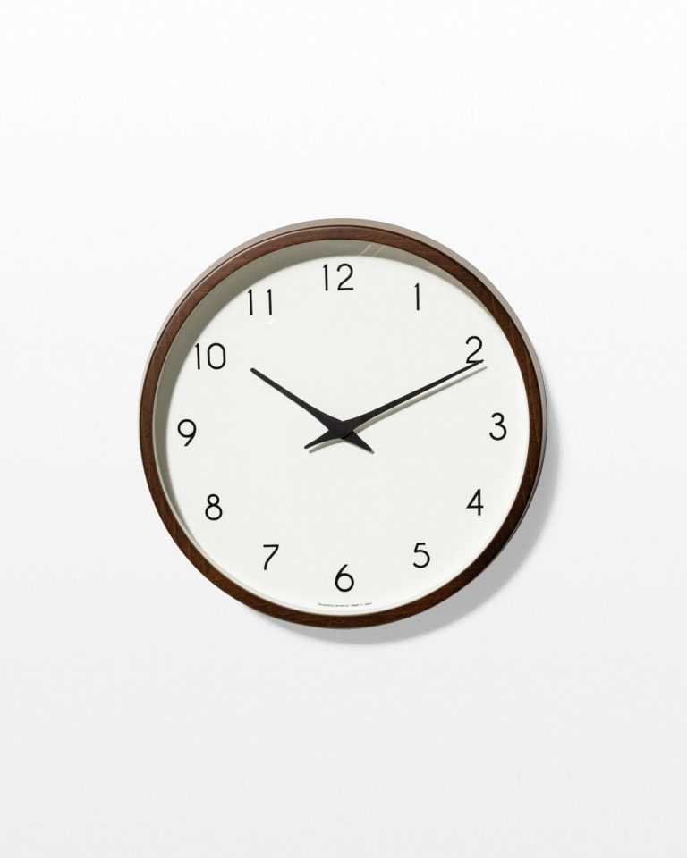 Front view of Ethan Wall Clock