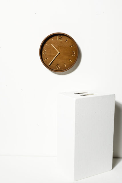 Alternate view 1 of Liam Wood Wall Clock