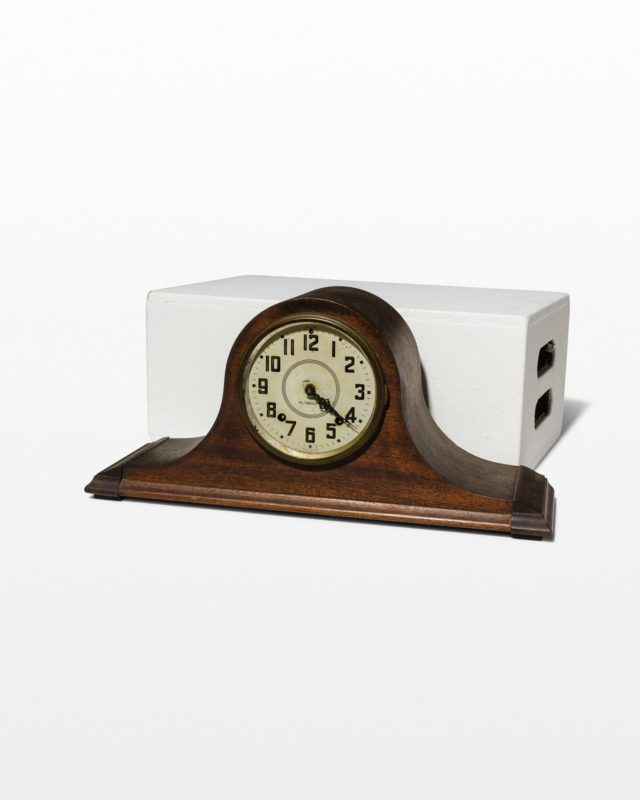 Front view of Burton Mantle Clock