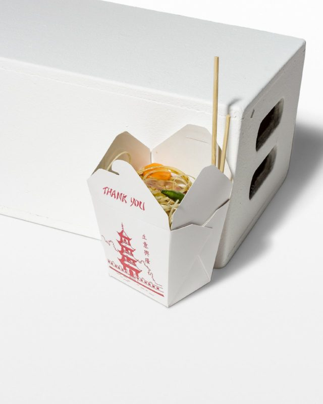 Front view of Faux Chinese Takeout
