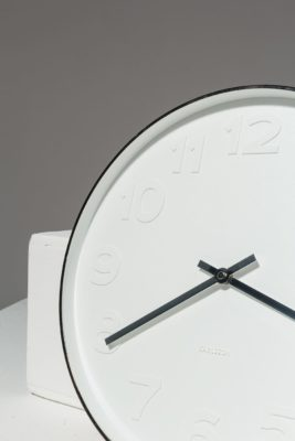 Alternate view 2 of White Wall Clock