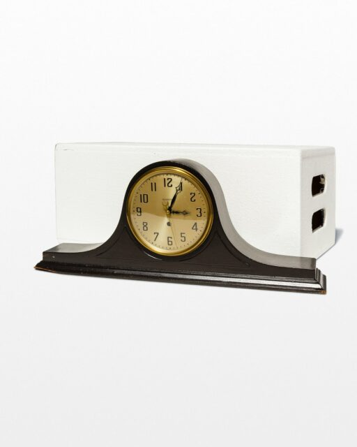 Front view of Carter Mantel Clock