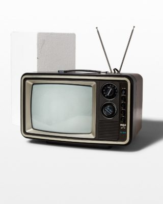 Front view of Farns Television