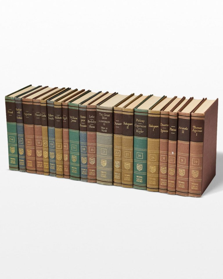 Front view of Quincy Reference Manual Book Set