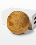 Front view thumbnail of Noah Decorative Wooden Sphere