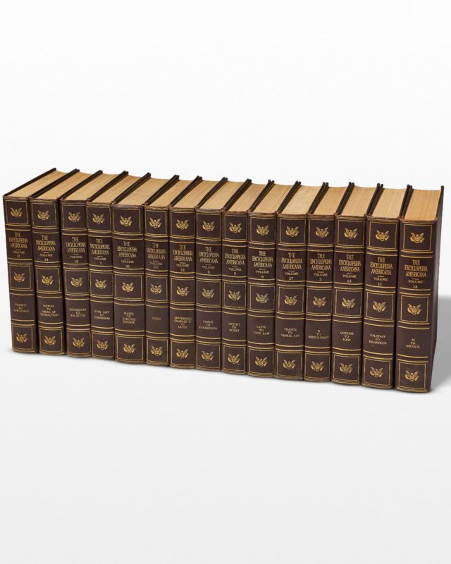 Front view of Lena Encyclopedia Set