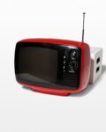 Front view thumbnail of Parker Red Television