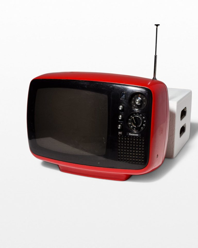 Front view of Parker Red Television