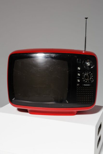 Alternate view 2 of Parker Red Television