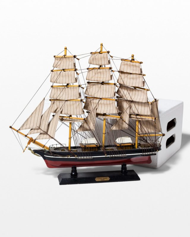 Front view of Sark Model Ship