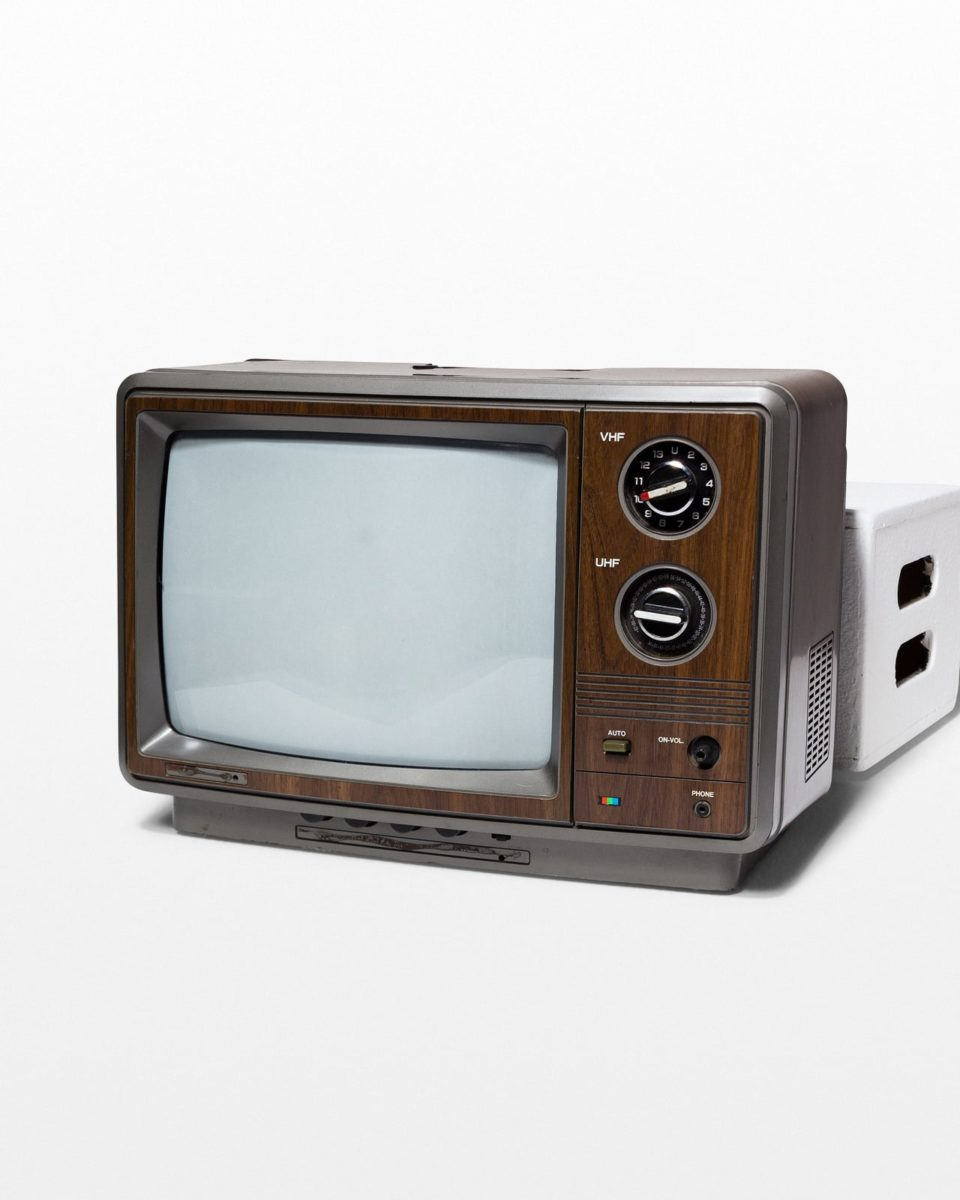 Front view of Norman Television