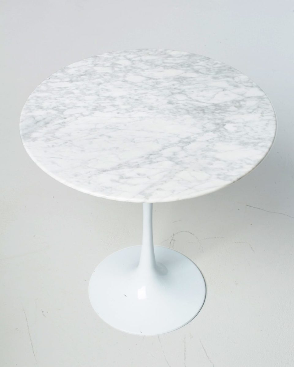 Alternate view 1 of Motif Marble Tulip Side Table