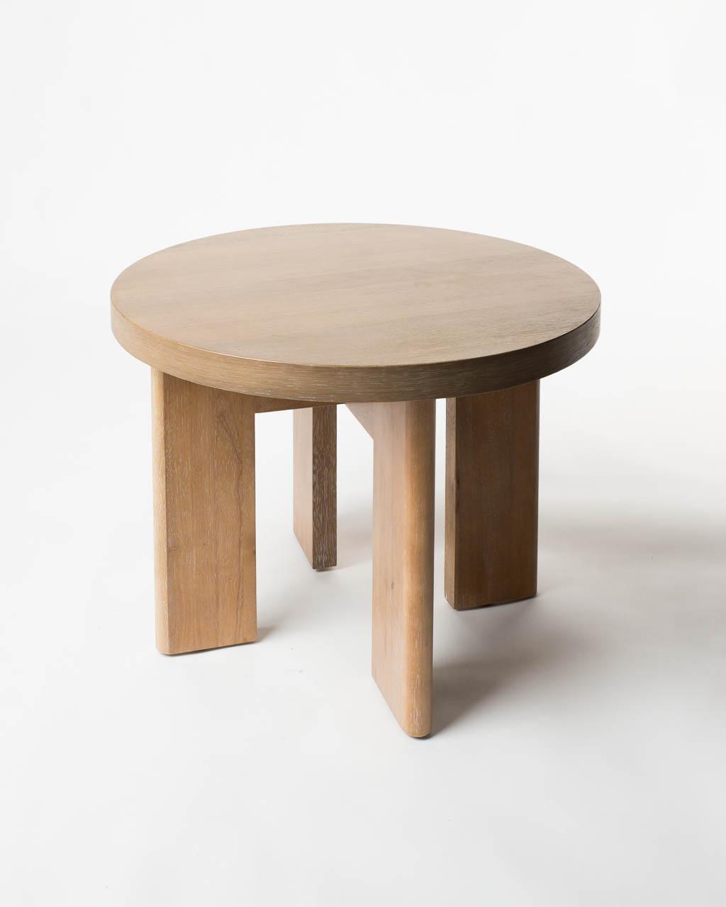 Tb020 White Birch Side Table