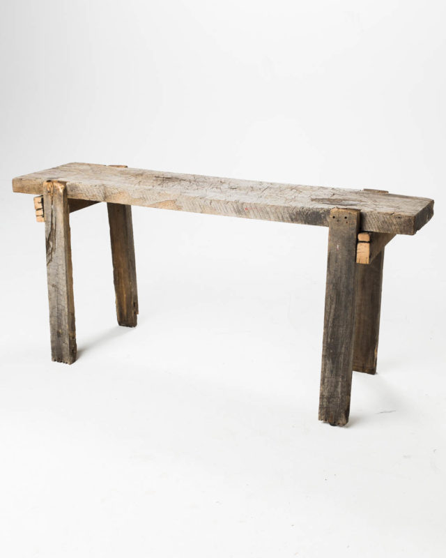 Front view of Braddock Table