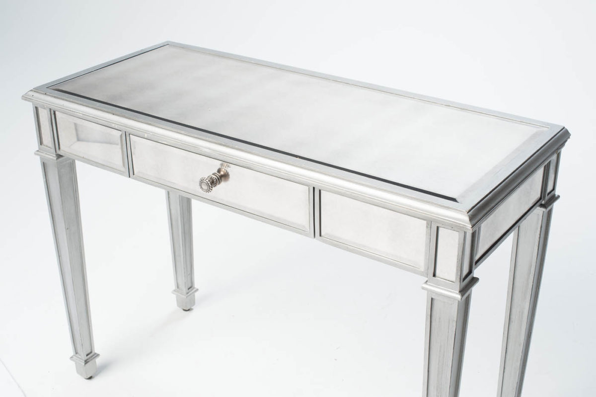 Alternate view 2 of Garbo Mirrored Table with Seat