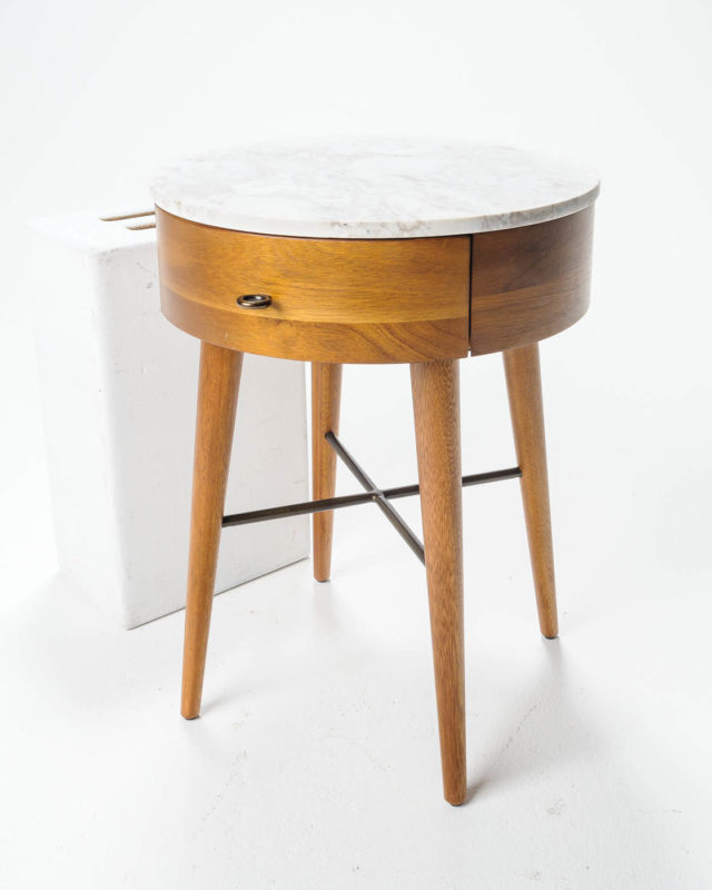 Front view of Morris Side Table