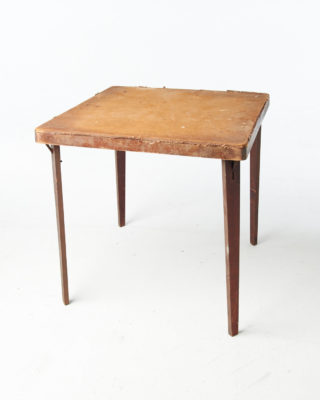 Front view of Lincoln Distressed Table