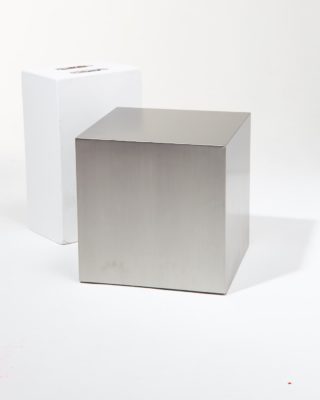 "Alternate view 1 of 16"" Stainless Steel Cube"