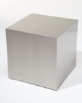 "Alternate view thumbnail 2 of 16"" Stainless Steel Cube"