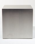 "Alternate view thumbnail 3 of 16"" Stainless Steel Cube"