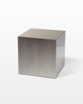 "Front view thumbnail of 16"" Stainless Steel Cube"