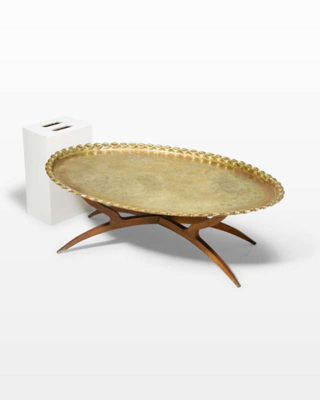 Front view of Bombay Coffee Table