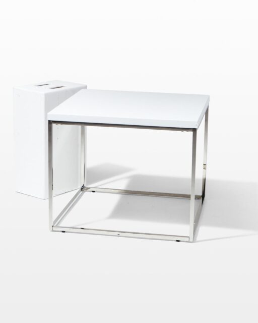 Front view of Mercer Side Table