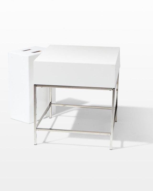 Front view of Mercer Bedside Table