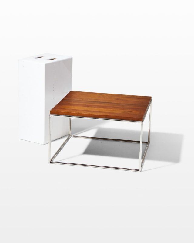 Front view of Windsor Frame Side Table A