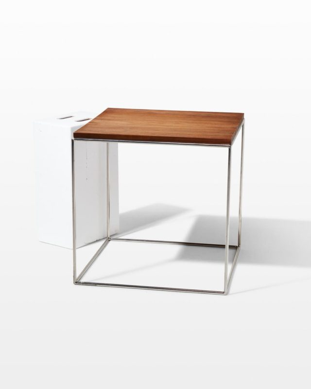 Front view of Windsor Frame Side Table B