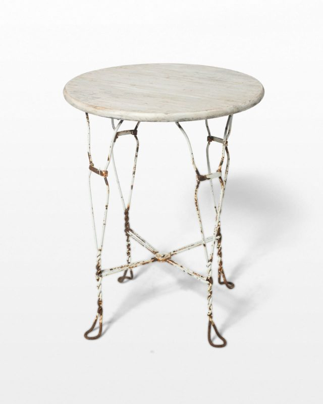 Front view of Pamela Table