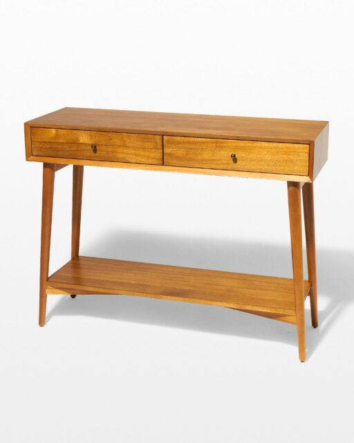 Front view of Acacia Console