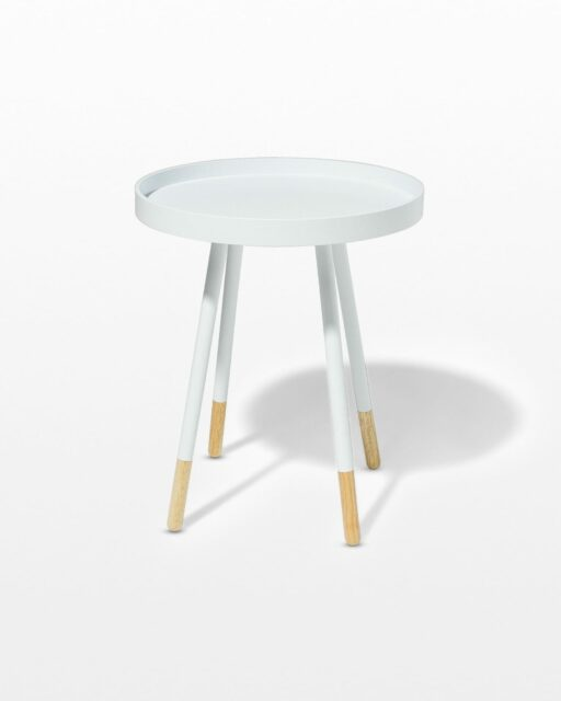 Front view of John Side Table