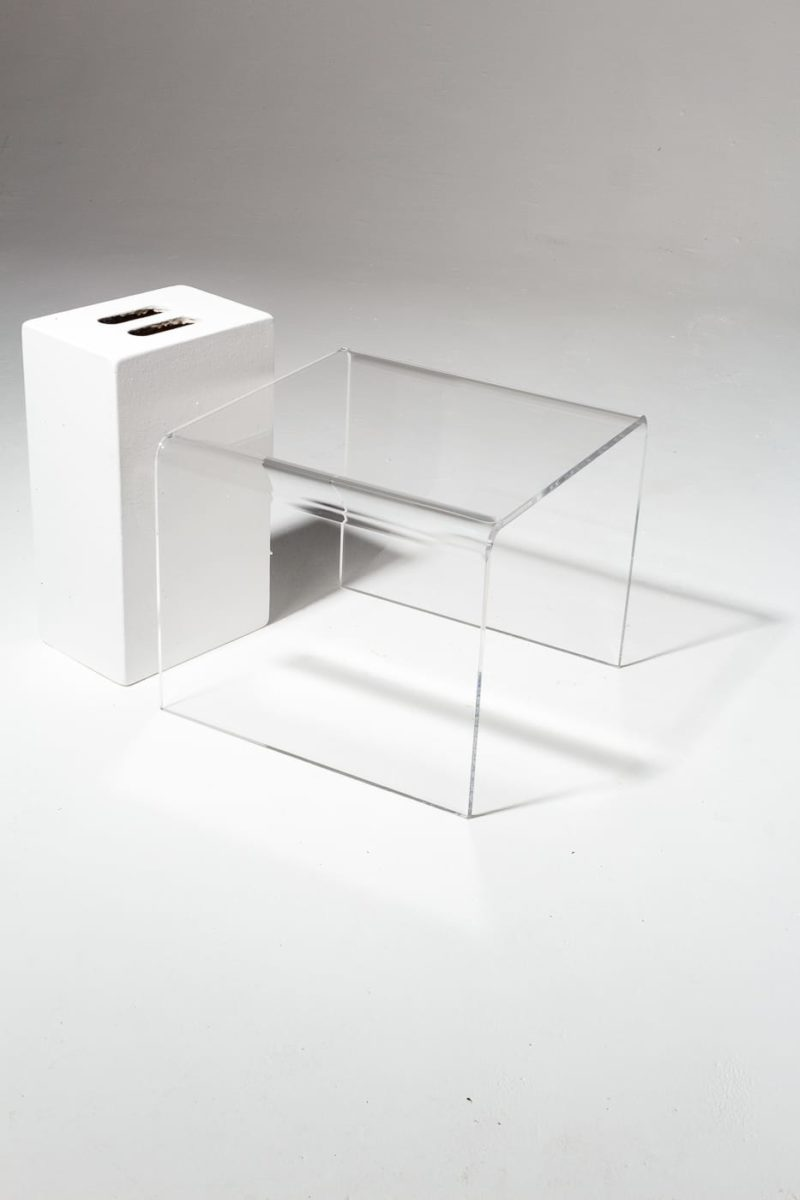 Alternate view 1 of Brant Acrylic Side Table