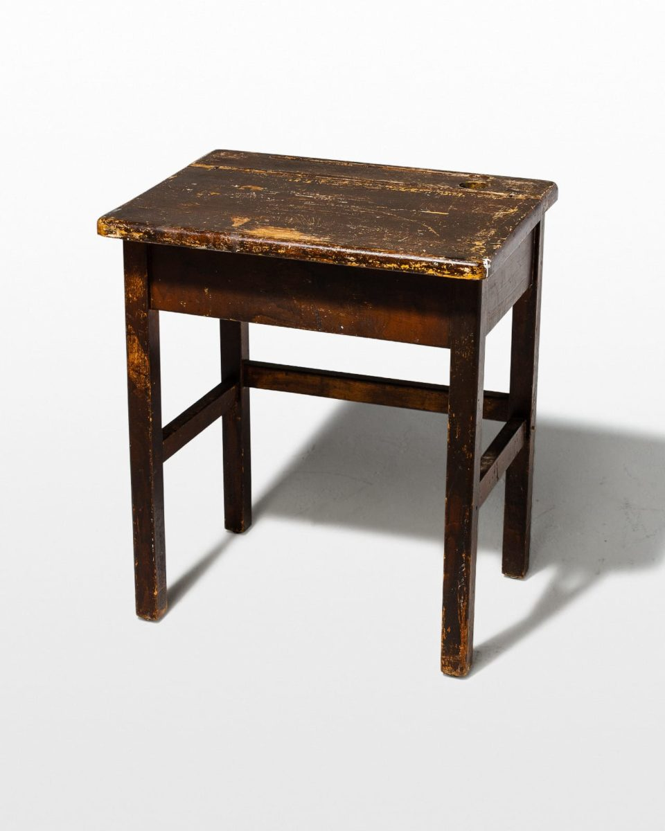 Front view of Cobble Desk Table