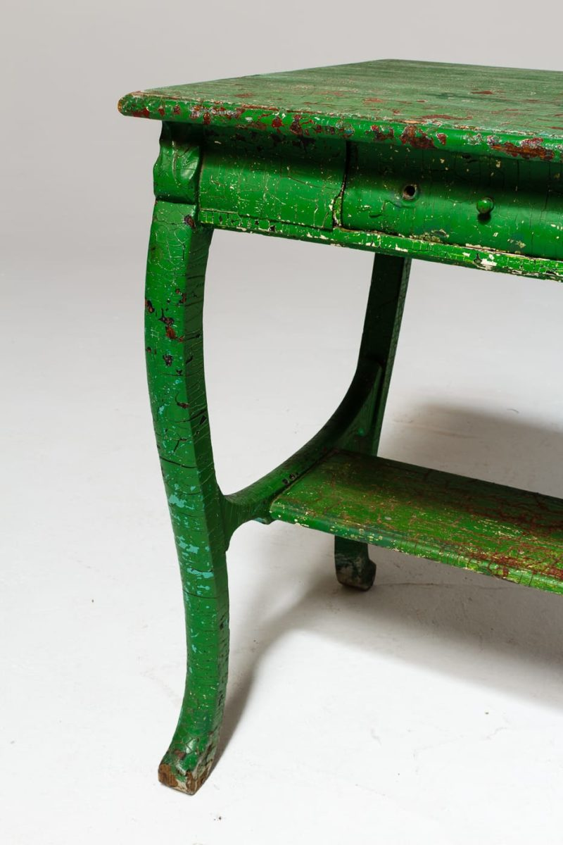 Alternate view 5 of Colton Weathered Green Table