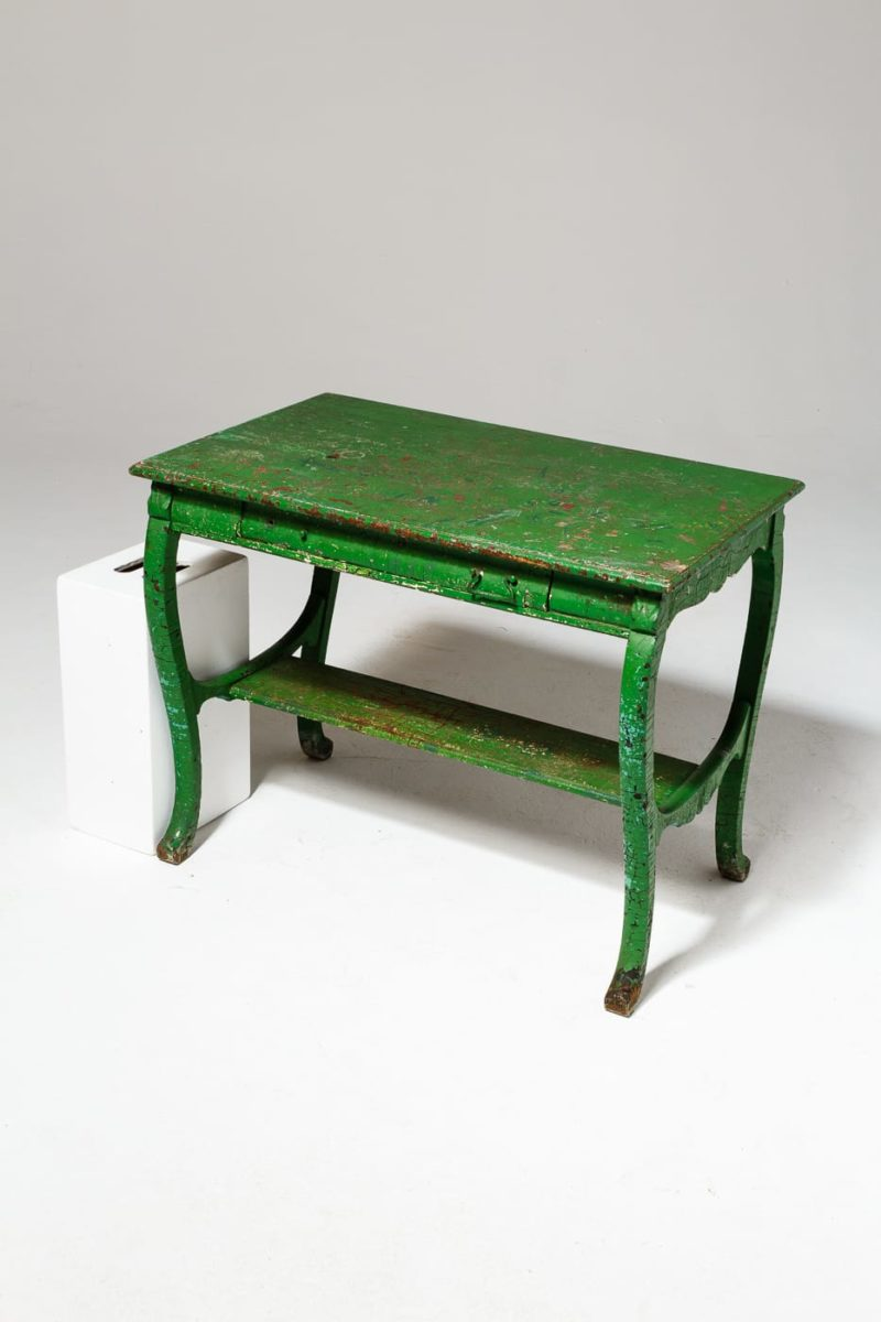 Alternate view 1 of Colton Weathered Green Table