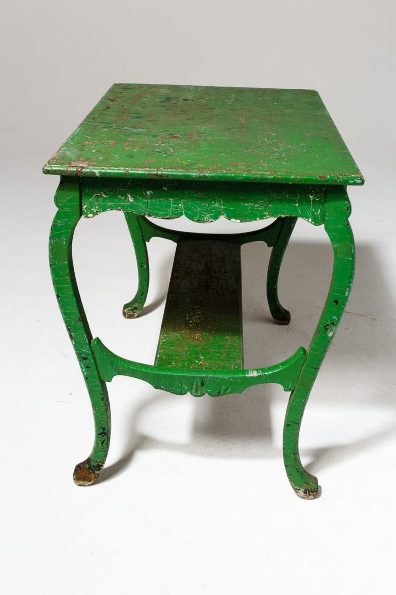 Alternate view 4 of Colton Weathered Green Table