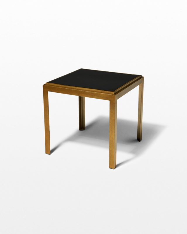Front view of Hal Iron Side Table