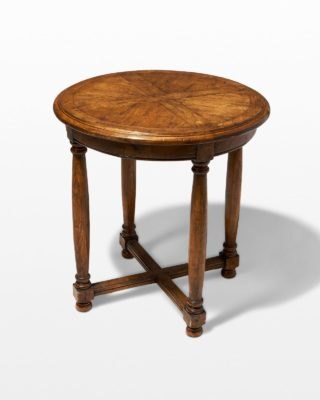 Front view of Myles Wooden Table